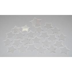 Sada dekorací 4 - akryl - hvězdy