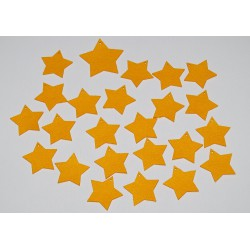 Sada dekorací 8 - filc - hvězdy