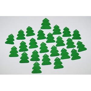 Sada dekorací 22 - filc - stromy